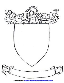 Medieval Times Coat of Arms (C2, W2)