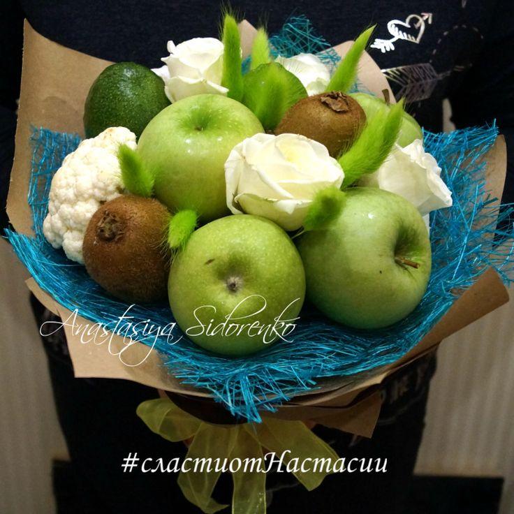 """Gallery.ru / Букет из фруктов """"Можно все"""" - Букеты из фруктов - AnastasiyaSidorenko"""
