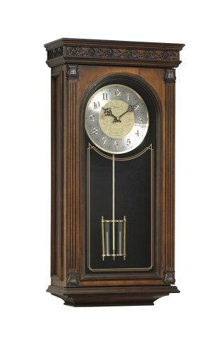 Special Offers - Bulova Laurien Wall Chime Clock  11.5-in. Wide - In stock & Free Shipping. You can save more money! Check It (May 21 2016 at 12:20PM) >> http://wallclockusa.net/bulova-laurien-wall-chime-clock-11-5-in-wide/