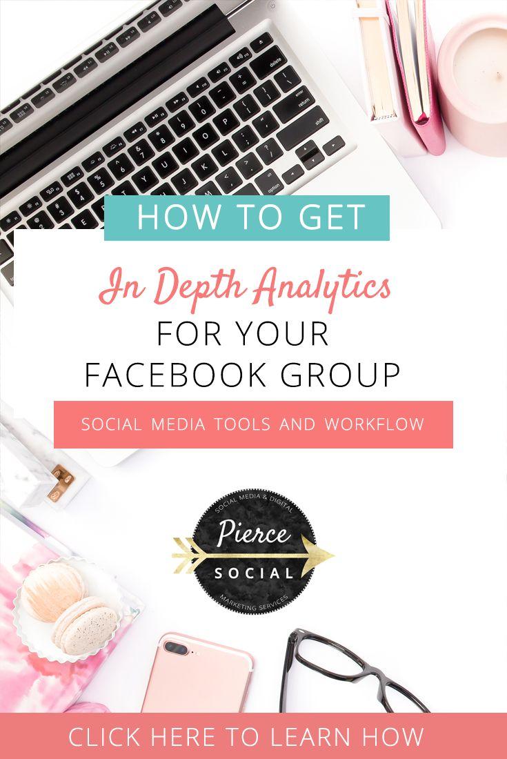 How To Get In Depth Facebook Group Analytics - Pierce Social