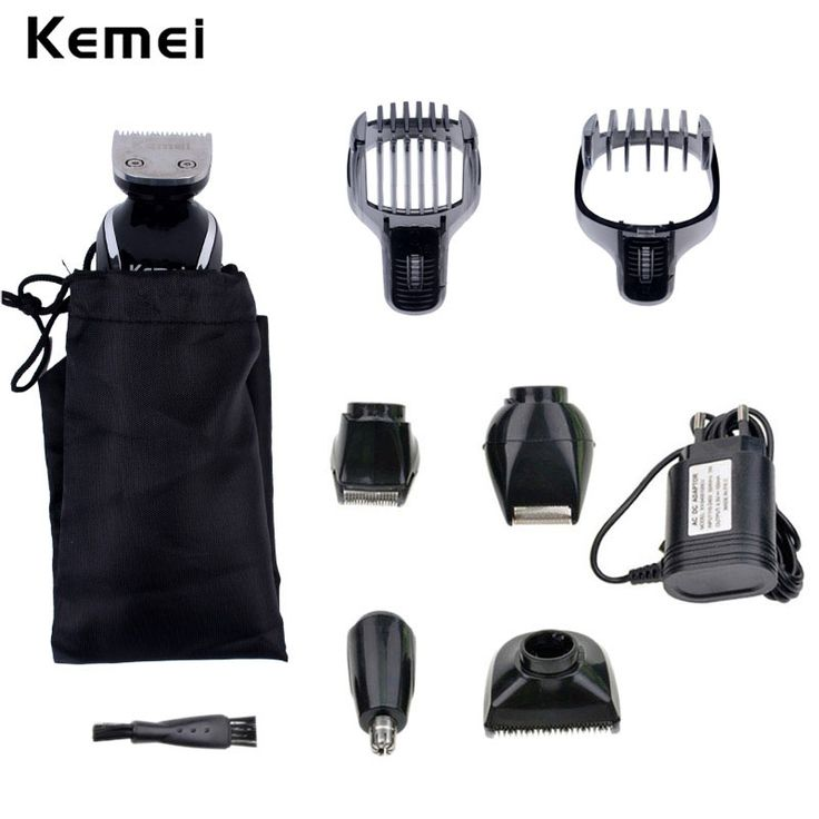 Kemei 5 in 1 Waterproof Rechargeable Men's Hair Clipper Razor Nose Trimmer Electric Shaver Shaving Machine for Men Barbeador P46 #clothing,#shoes,#jewelry,#women,#men,#hats,#watches,#belts,#fashion,#style