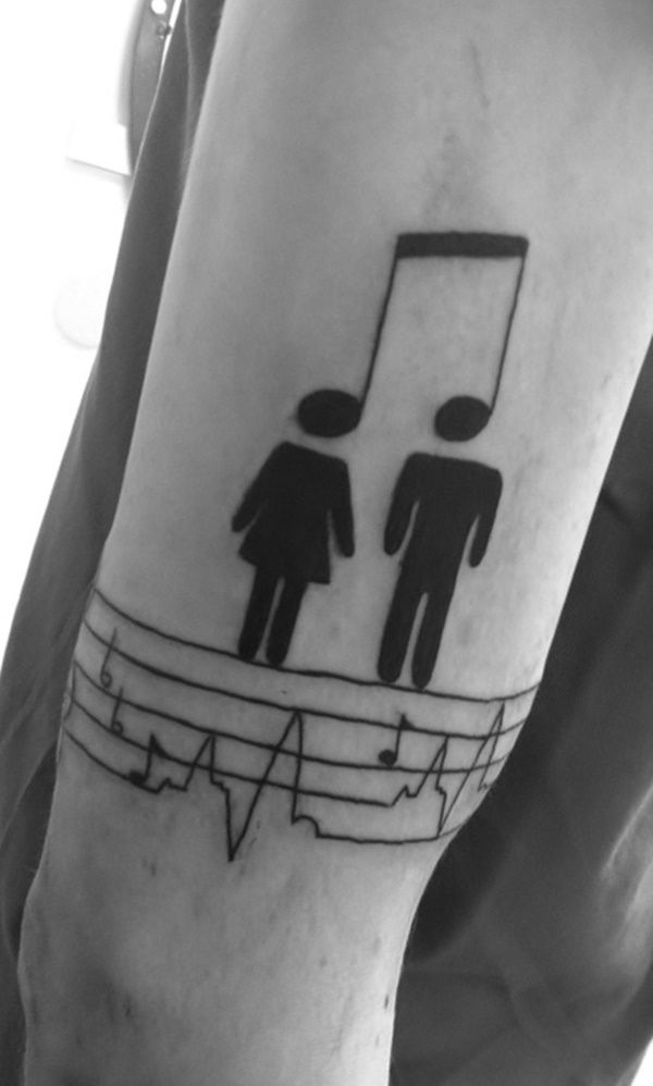 Music Tattoo Designs for Men and Women29