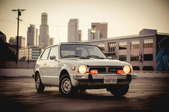 1977 Honda Civic - Brings so many memories, it was a blue one with a 1,500 C.C engine from a 1983 HOT S edition, it used to fly...