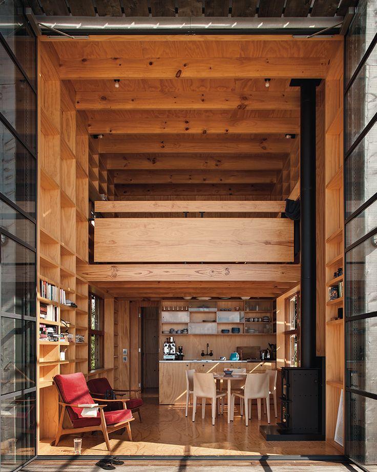 HUT ON SLEDS / Whangapoua « Crosson Architects