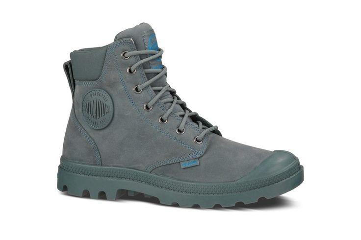 Top Palladium Pampa Cuff Wp Lux (Blauw) Sneakers van het merk Palladium voor Dames. Uitgevoerd in Blauw gemaakt van Leer. Nu verkrijgbaar voor 0.00 bij Sneakershop.