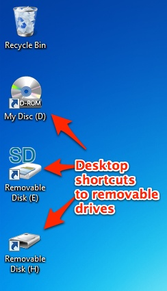 How to Add Drive Icons to Your Windows Desktop