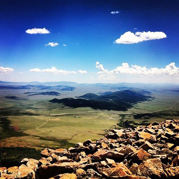 Colorado Mountains from Camp Como