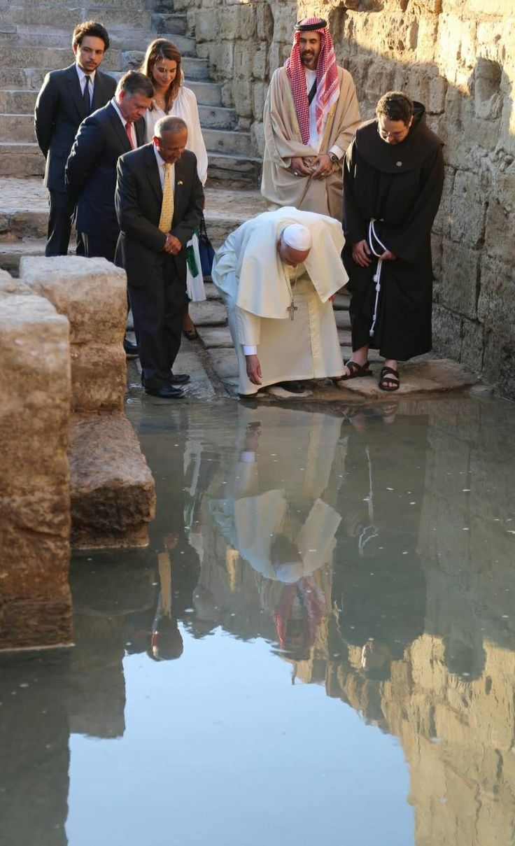 Pope Francis in Jerusalem.