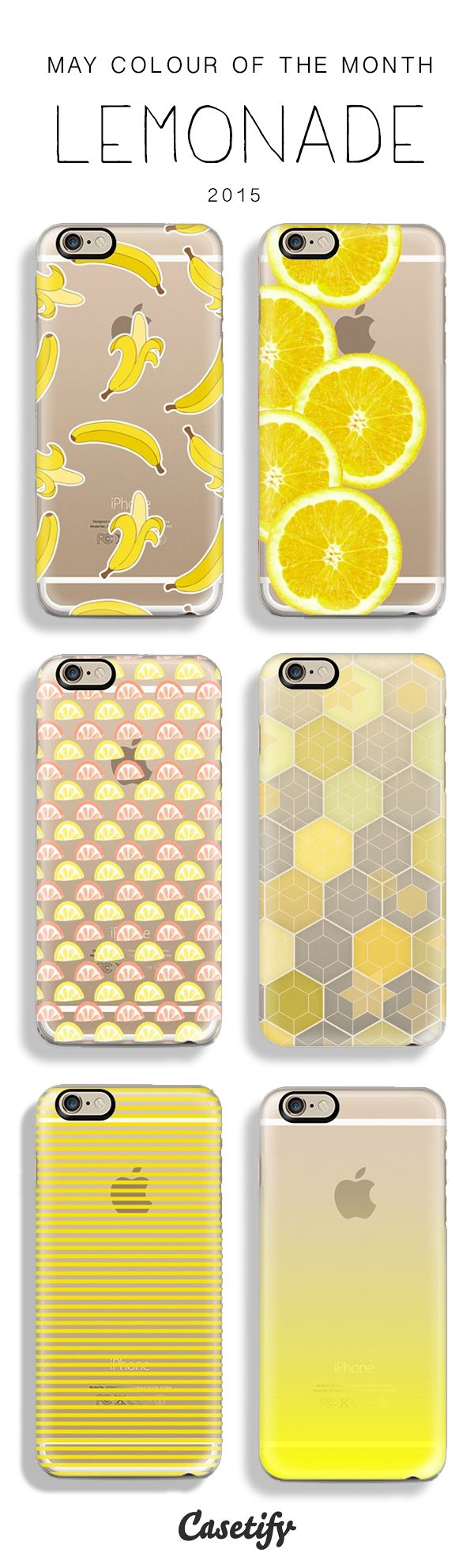 May Colour of the Month: Lemonade! Pucker up for summer in trend-ready yellow! Shop this collection: http://goo.gl/GjIpiU