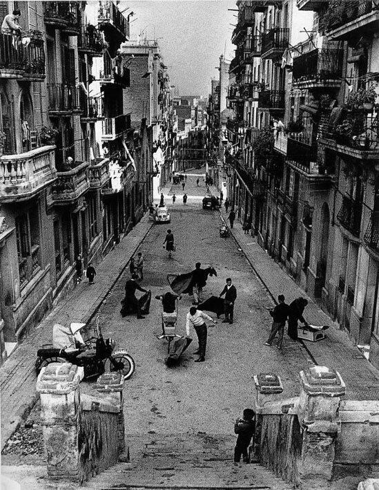 Poble Sec, Barcelona, 1958.