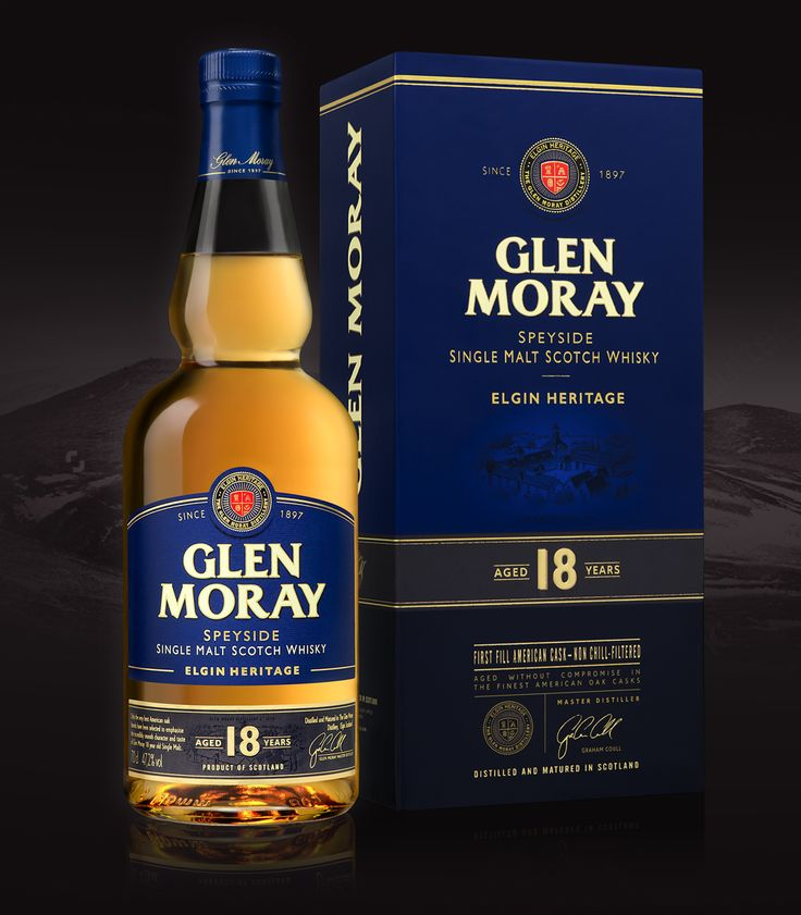 Whisky Glen Moray - Elgin Heritage on Packaging of the World - Creative Package Design Gallery