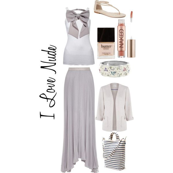 """""""I Love Nude"""" by louiseenorris on Polyvore"""