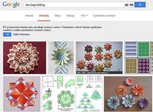 tea bag folding, tvoření z čajových sáčků, tvoření s dětmi, tvořivá recyklace