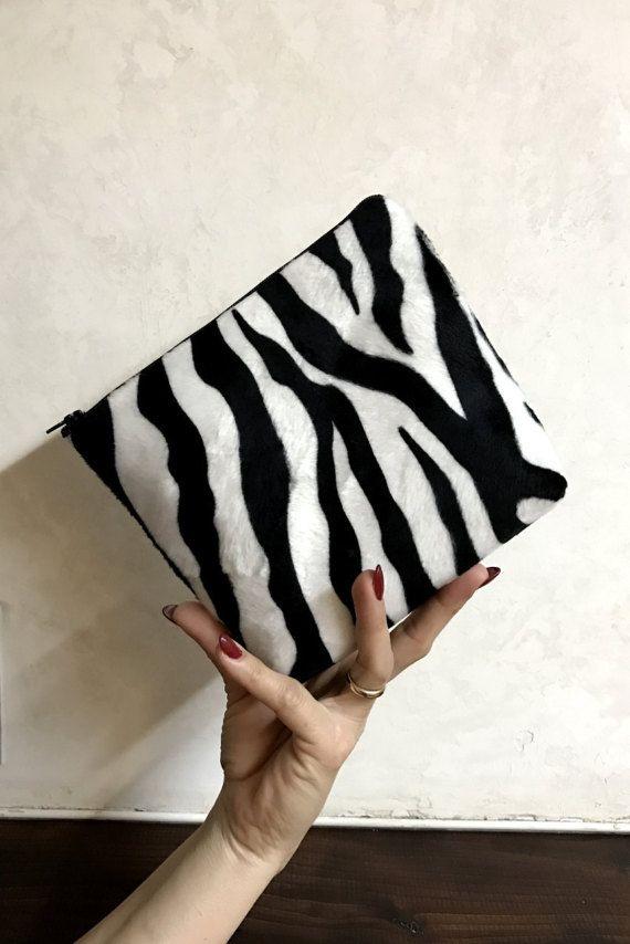 Toiletry bag woman  zebra designs rockabilly by FlaviacAccessories