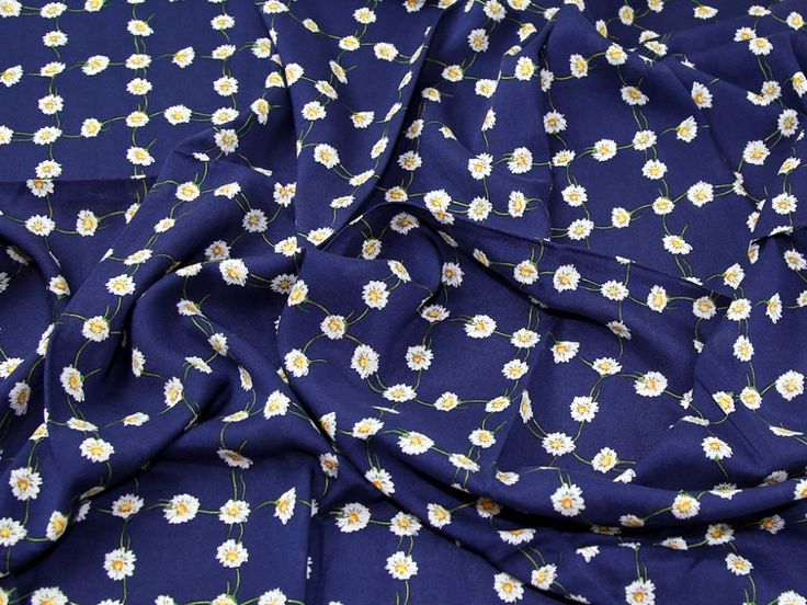 Daisy Plaid Print Viscose Dress Fabric | Fabric | Dress Fabrics | Minerva Crafts