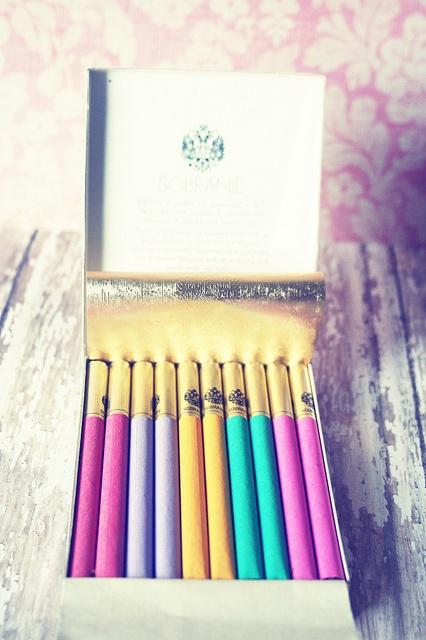 cigarros de colores......
