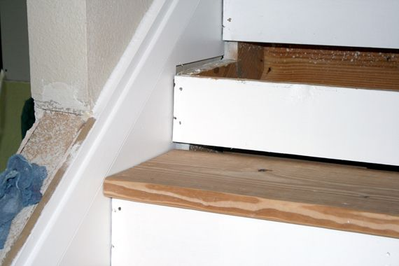 basement basement stairs staircase progression gaps stair stair review