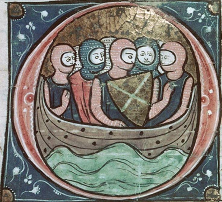 Tours BM MS.951 Estoire del saint Graal/Joseph d'Arimathie/Merlin/Suite du Merlin Франция, 1287-1291