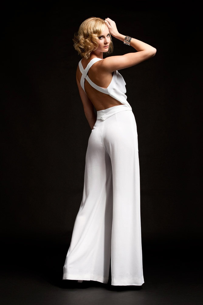 The Perfect White Pair Of Pants by sandrachagen on Etsy, $140.00