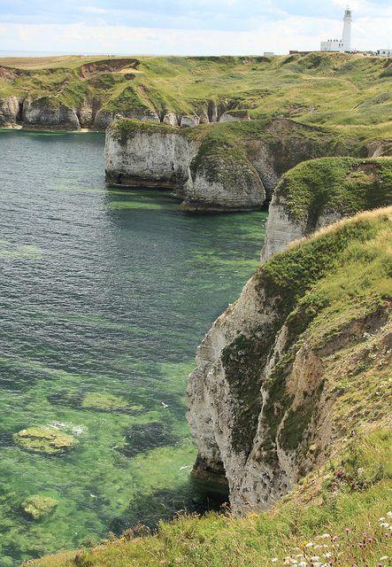Flamborough Head, on the Yorkshire coast (by tik_tok).
