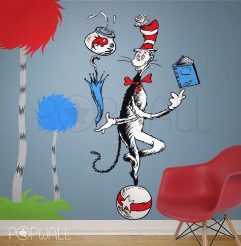Best  Dr Seuss Wall Decals Ideas On Pinterest Baby Wall - Dr seuss nursery wall decals