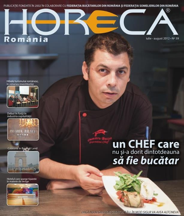 Issue 59 - Executive Chef Dumitru Bucsa, Pullman Hotel