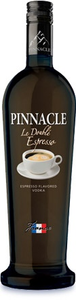 le double espresso - coffee flavored vodka - holy crap i may never come back from this!!!!