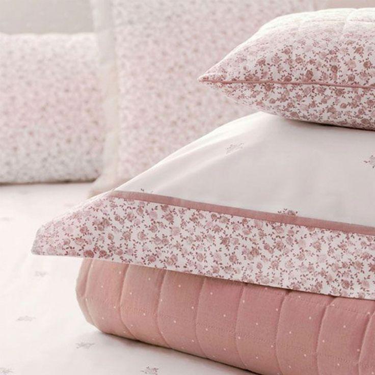 Kit Cobre Leito Trapuntado QUEEN Buddemeyer Lolita – Rosa - Percal 200 Fios 100% Algodão http://www.tokdeconforto.com.br/kit-cobre-leito-trapuntado-queen-buddemeyer-lolita-rosa-percal-200-fios-100-algod-o #decor #rosa #salmao #flowers