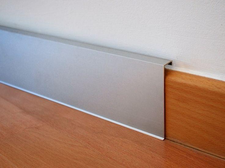 Aluminium Skirting board NOVORODAPIE® REHABIT - EMAC Italia