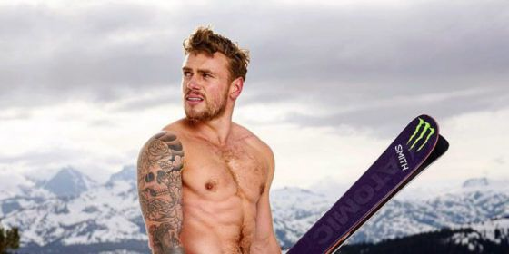 WATCH: Gus Kenworthy discusses posing naked on a mountain