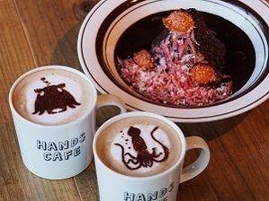 """""""ダイオウイカ"""" ラテに、深海カレー!? 東急ハンズに期間限定「深海カフェ」が出現!"""