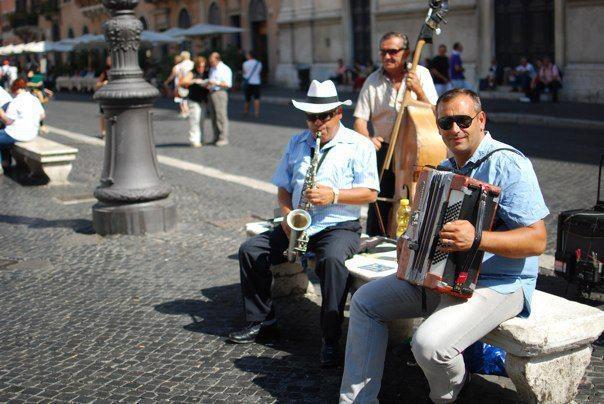 Piazza Navona, Rome. Credit: Garth Spackman