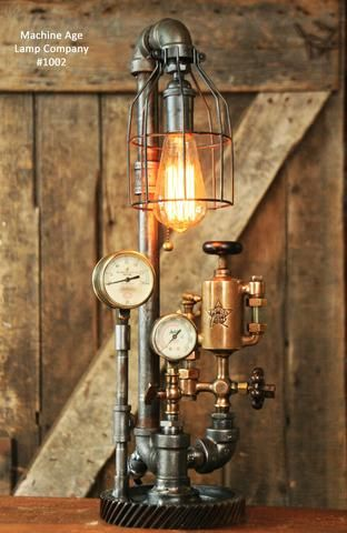1000 Images About Steampunk Lamps On Pinterest