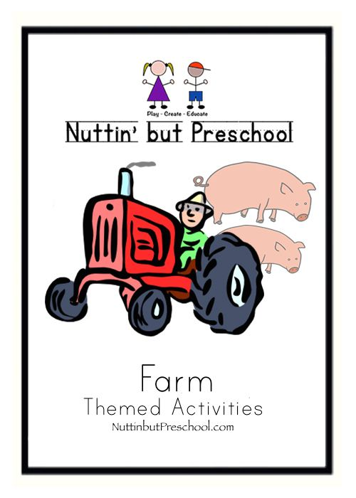 The Farm Preschool Lesson Plan Theme Most of Our Food is