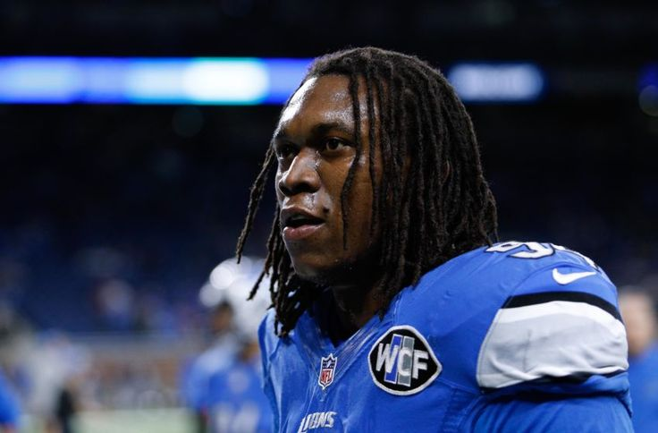 Dec 11, 2016; Detroit, MI, USA; Detroit Lions defensive end Ezekiel Ansah (94) walks off the field before the game against the Chicago Bears at Ford Field. Lions win 20-17. Mandatory Credit: Raj Mehta-USA TODAY Sports