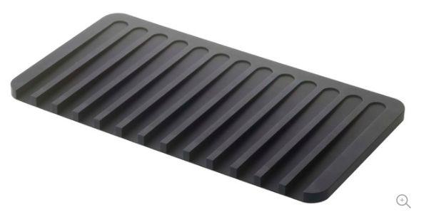 http://www.houzz.com/photos/48282488/Flow-Drainer-Tray-Black-contemporary-dish-racks