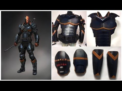17 best images about costume prop armor ideas on pinterest for Deathstroke armor template