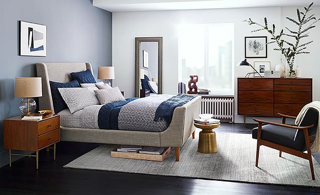 I love the west elm Timeless + Tailored Bedroom on westelm.com/