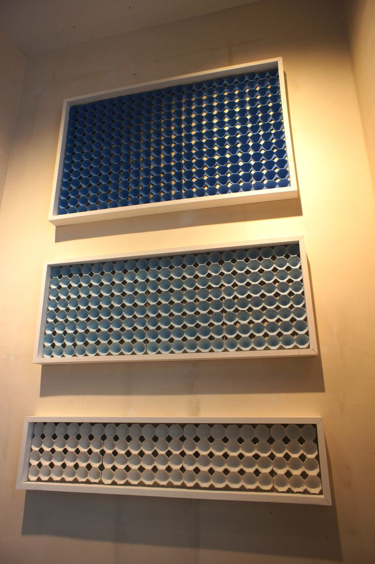Egg Carton Wall Art We Love Creative Ideas Acoustic