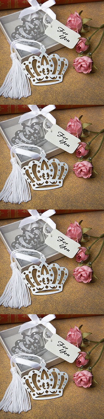 Favors and Party Bag Fillers 26385: 100 Royal Crown Design Bookmark Bridal Shower Party Wedding Favor Bulk Lot -> BUY IT NOW ONLY: $114.89 on eBay!