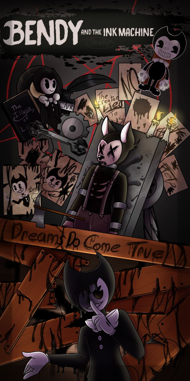 Bendy And The Ink Machine By Jinx Wolf 47 On Deviantart