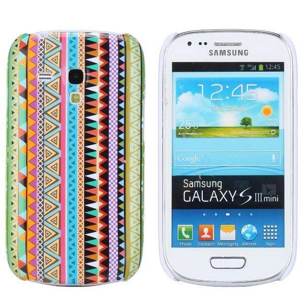 Verticaal aztec hoesje Samsung Galaxy S3 mini