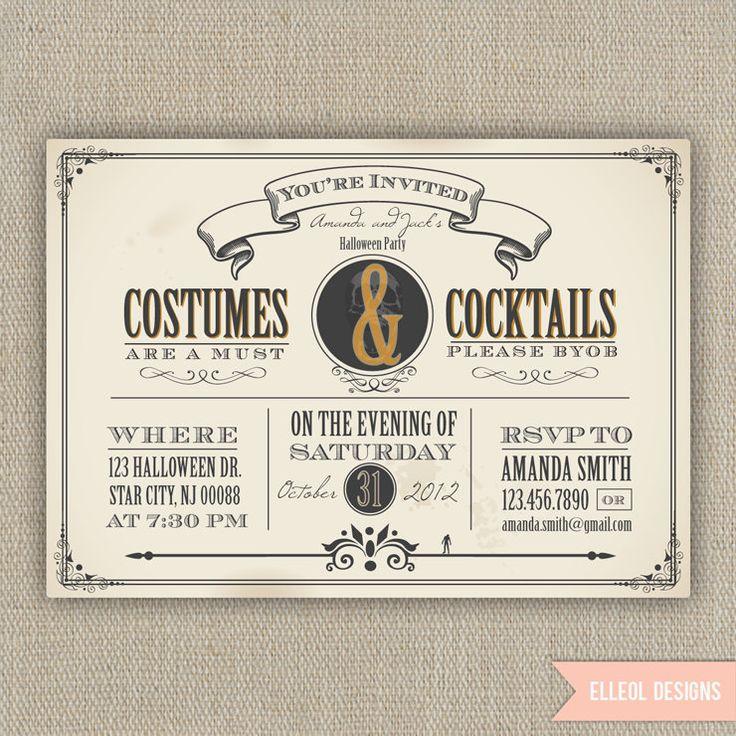 50+ best Halloween Invitations images by JP on Pinterest | Halloween ...
