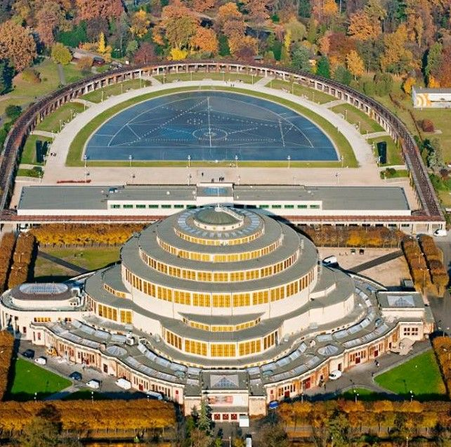 The Centennial Hall in Wroclaw, Poland