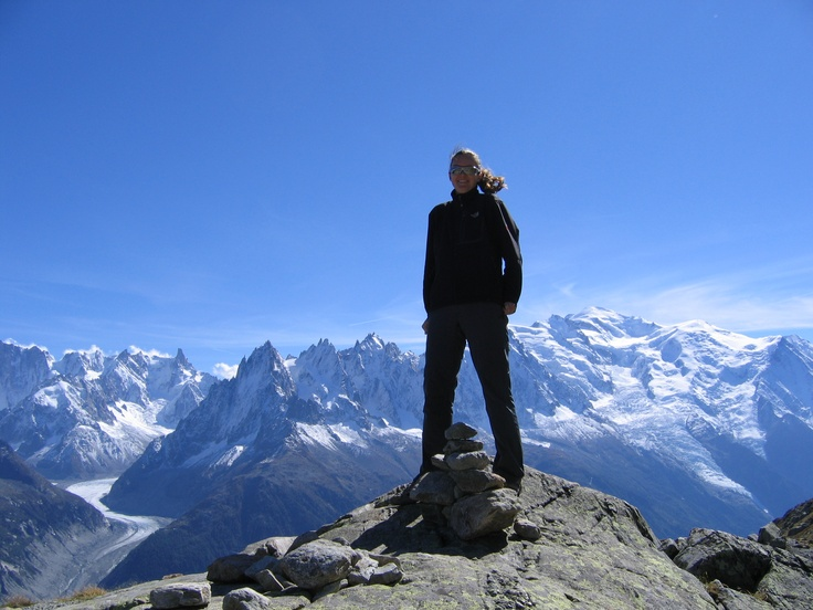 Feeling on top of the World, Mont Blanc, France #greatwalker