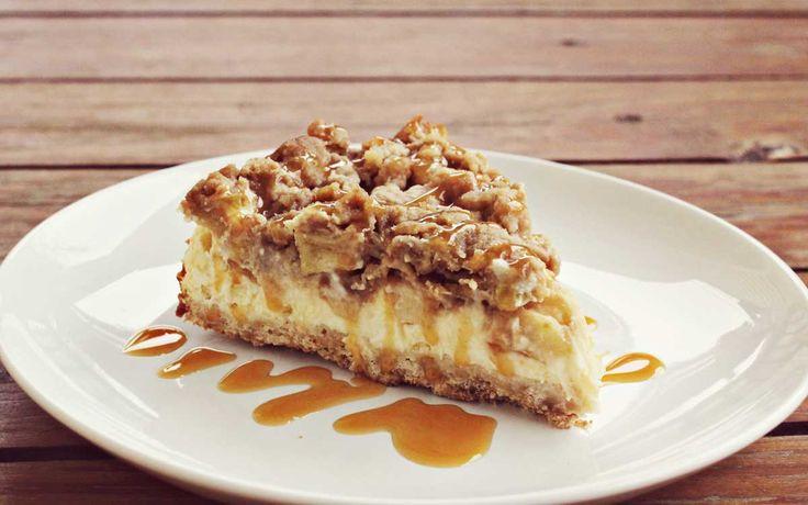Ik heb al veel cheesecakes gebakken maar deze Appel Karamel Cheesecake is echt…