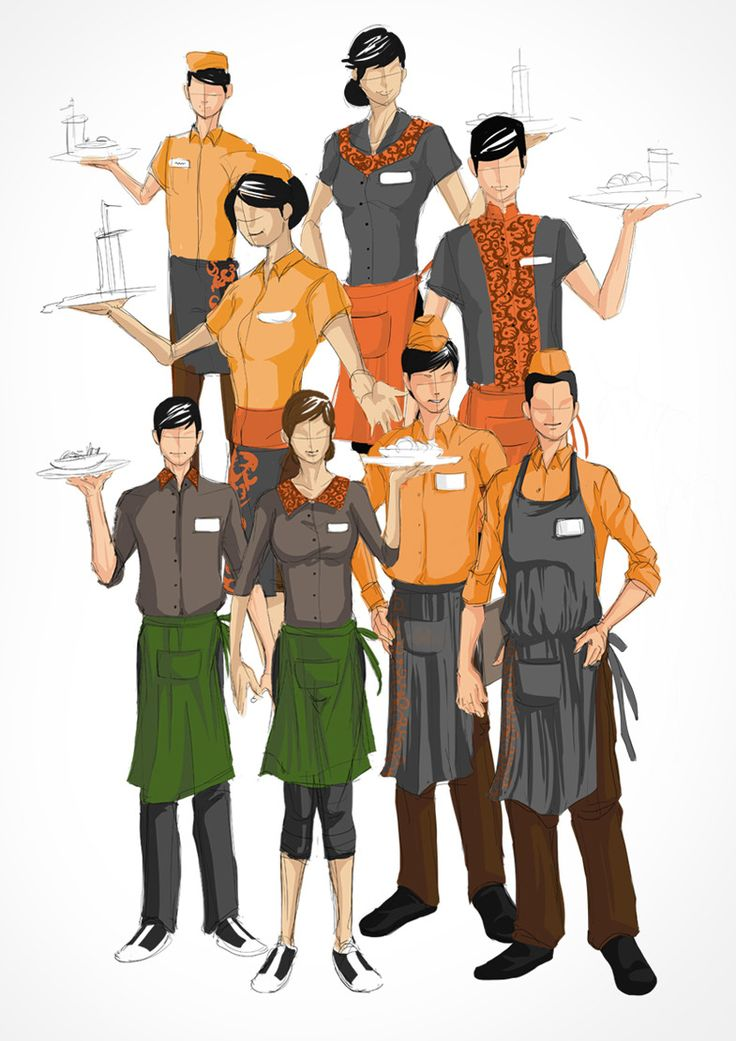 Restaurant Uniform Design Create the uniform design