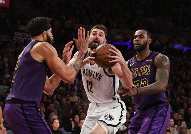 Brooklyn Nets Vs Los Angeles Lakers 1 23 20 Nba Pick Odds And Prediction In 2020 Los Angeles Lakers Brooklyn Nets Nba