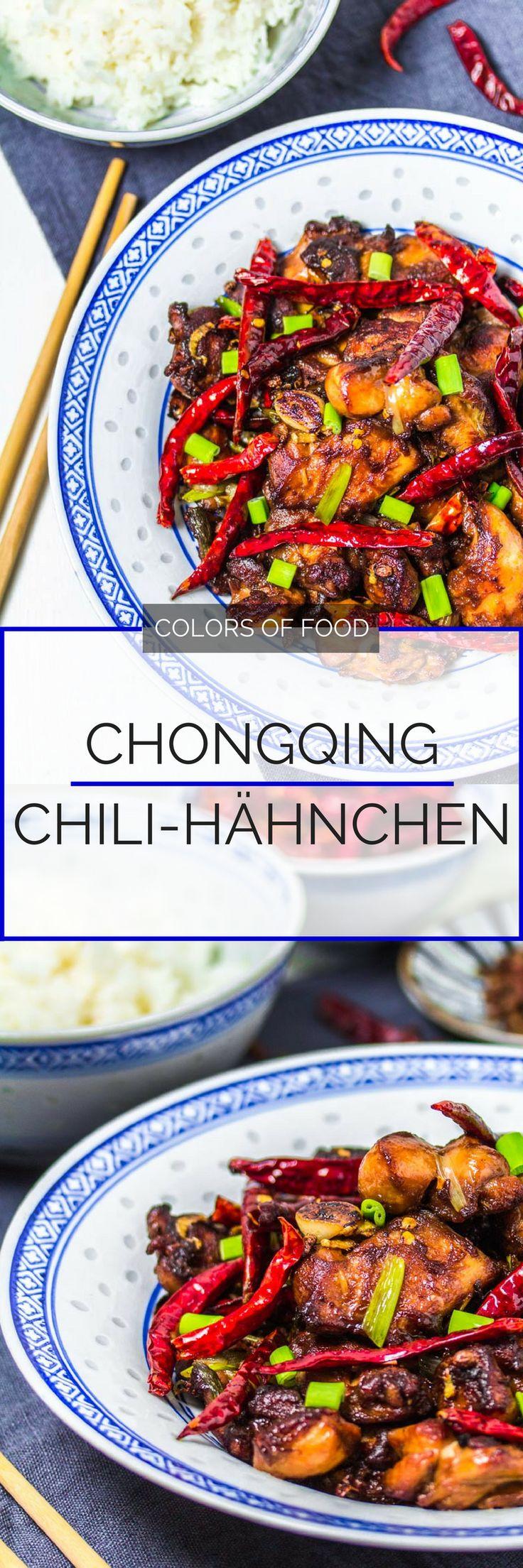 Bist du bereit für eine kleine Mutprobe? Dieses Hähnchengericht aus Chongqing ist genau das Richtige für Chili-Fans. Erfahre hier wie es geht!