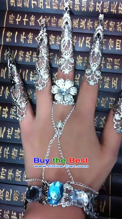 JP: Chinese Empress Hand and Finger Nails Guards   My Style/Ugly ...